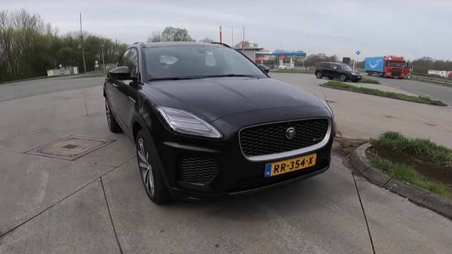 Watch Jaguar's Quickest E-Pace Go Flat Out In Acceleration Test