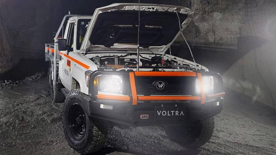 Electric Toyota Land Cruiser Goes Underground Mining