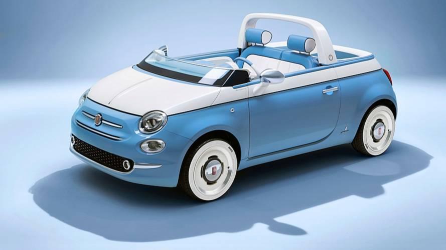 Garage Italia transforme la Fiat 500 en voiture de plage