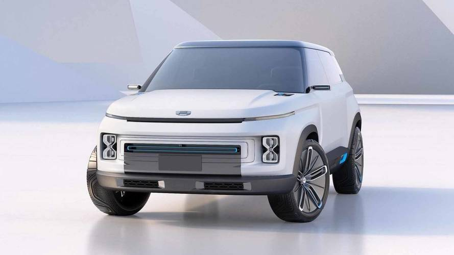 Geely Concept Icon SUV Bring Boxy, 8-Bit Style Into Real World