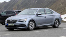 Skoda Superb spy photos