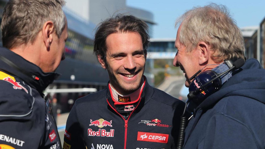 Staying at Toro Rosso 'best option' for Vergne