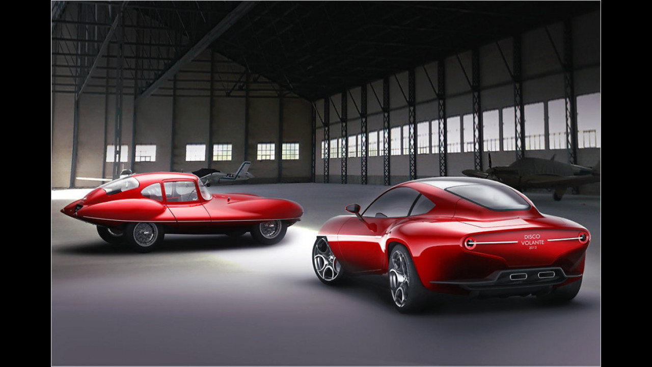 60 Jahre Alfa Romeo ,Disco Volante
