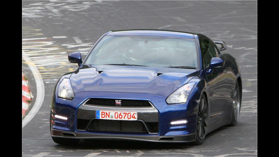 Neuer Japan-Sportler: Nissan GT-R für 2013 erwischt