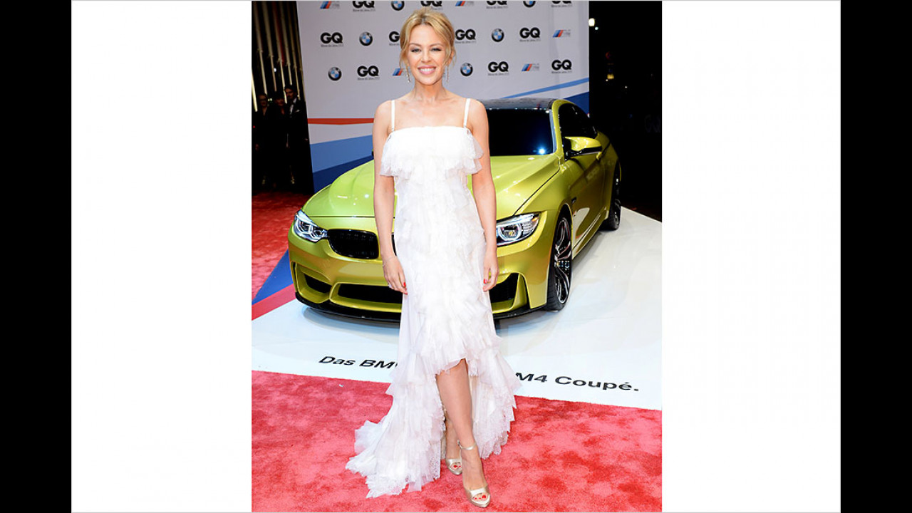 Kylie Minogue: BMW M4
