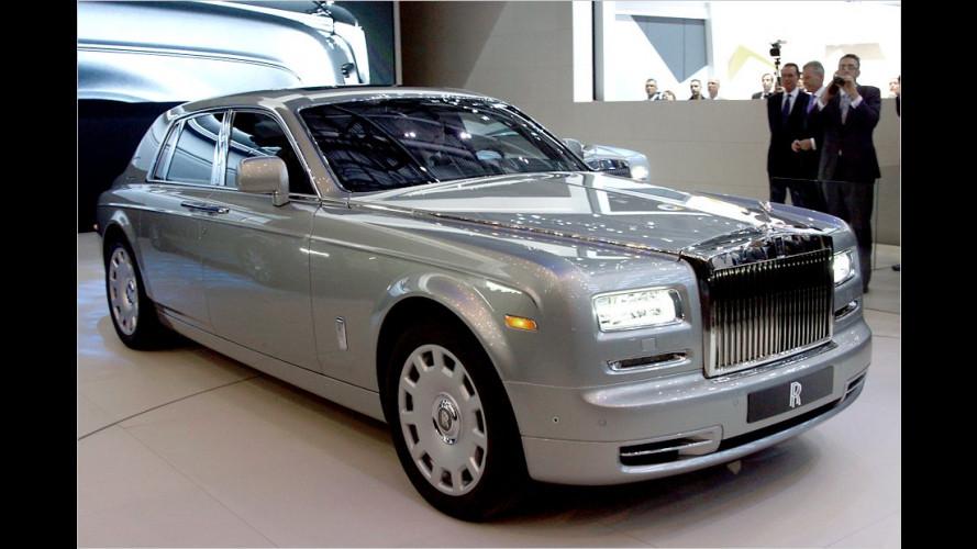 Rolls-Royce frischt seine Topmodelle auf