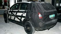 Opel Antara Spy Photos