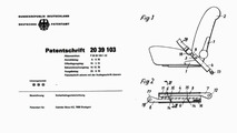 Mercedes-Benz seat mounted anchorage points patent
