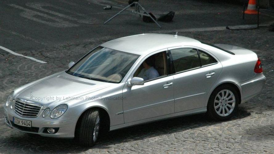 More Mercedes E Class Facelift Spy Photos