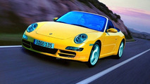 Porsche 997 Cabrio artist rendering