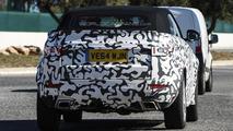 Range Rover Evoque Cabrio spy photo