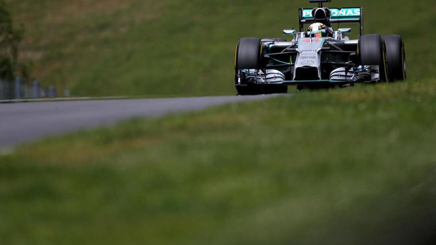 Pressure mounts as Hamilton spins down Austria grid
