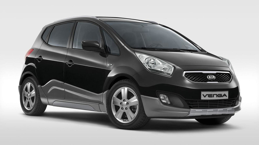 Kia Venga Crossover limited edition launched in Italy