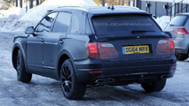 Bentley Bentayga spied up close with heavy camo