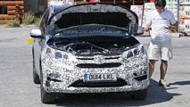 2016 Honda CR-V facelift spied in Europe