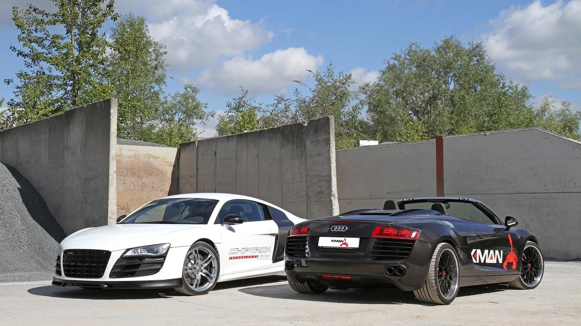 Купе и родстер Audi R8. Тюнинг K.MAN