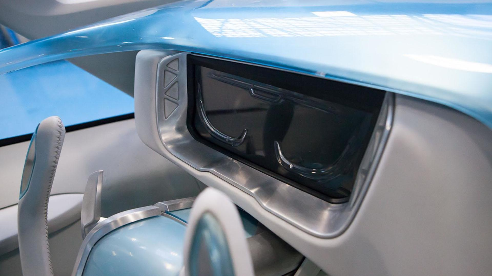 Руль Iveco Vision как штурвал самолета