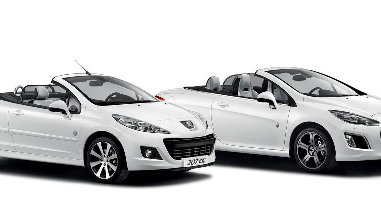 Peugeot 207 CC and 308 CC Roland Garros Special Editions 16.5.2012