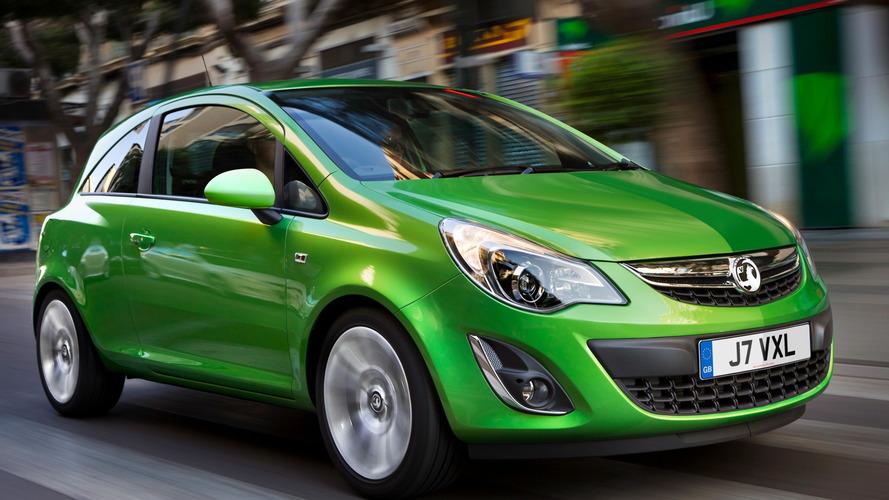 Vauxhall, Corsa D yangınları yüzünden baskı altında