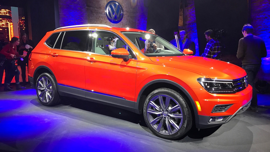Volkswagen brings long-wheelbase Tiguan to America