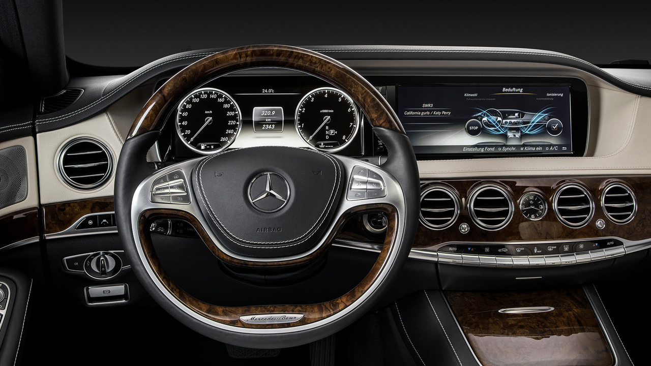 2018 Mercedes S Cl Interior Indirectly Revealed
