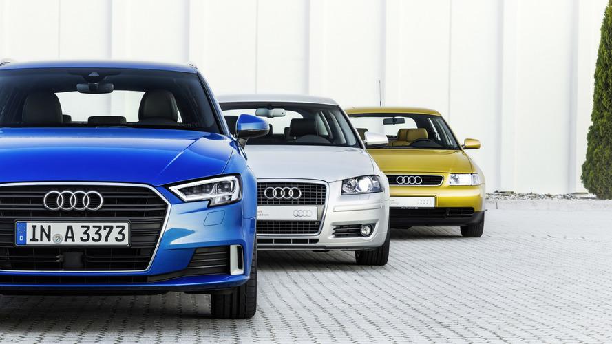 Audi A3 comemora 20 anos de evoluções