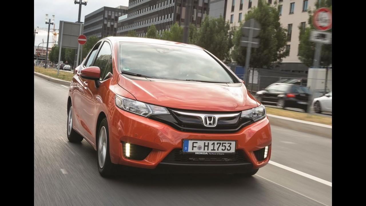 Honda fit chegar em 2019 mais leve e com motor 10 turbo