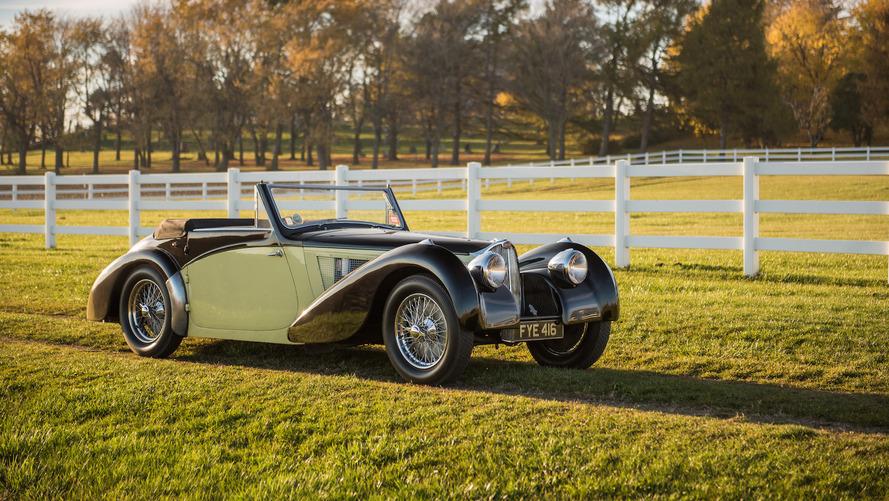 Une superbe Bugatti Type 57S Cabriolet mise en vente aux enchères