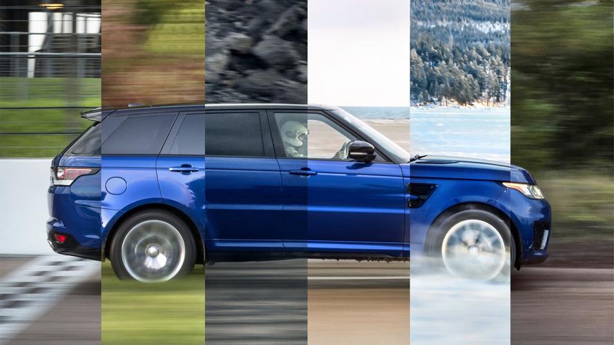 Range Rover kötü yüzeylerde de yeterince hızlı mı?
