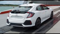 Flagra: Novo Honda Civic Hatch é clicado