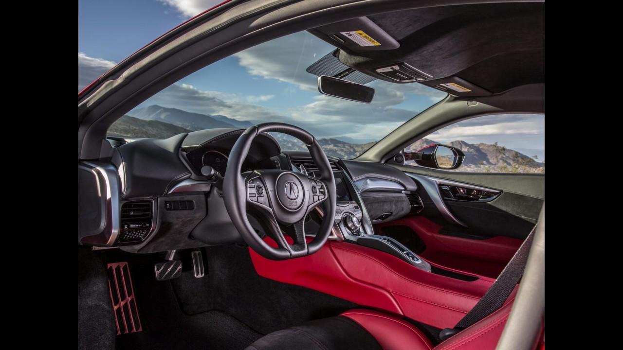 Acura NSX 2017 de 580 cv começa a ser produzido e tem 1ª unidade entregue