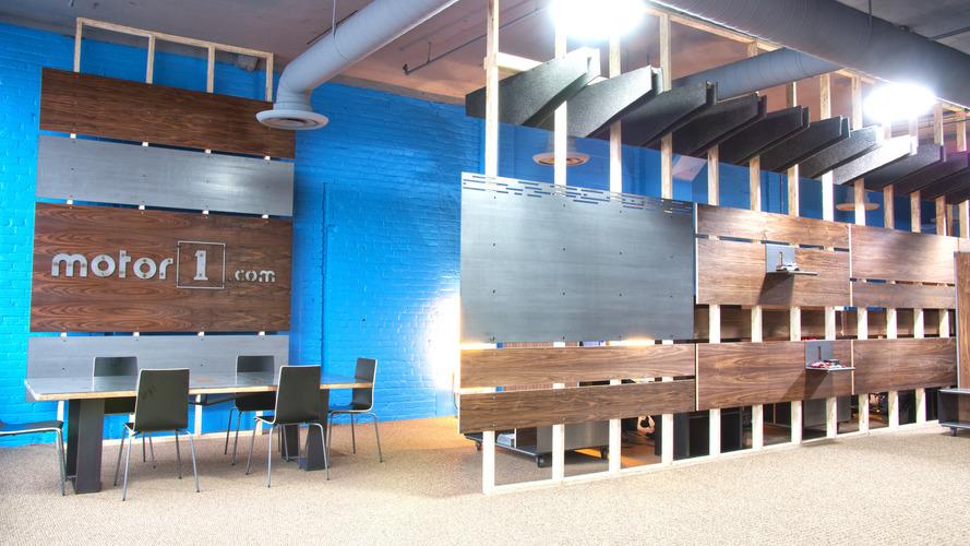 Take a quick tour of Motor1.com's Detroit HQ