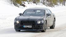 Bentley Flying Spur Plug-In Hybrid Spy Photos