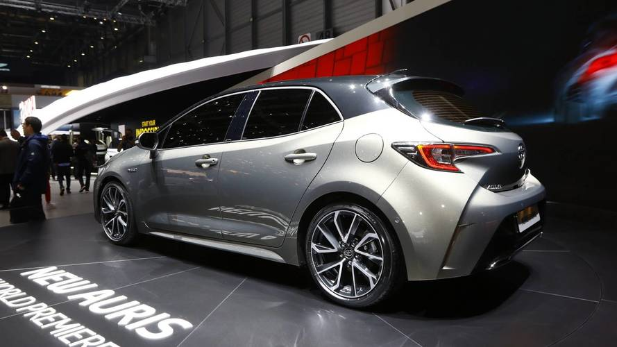 Toyota Auris at the 2018 Geneva motor show