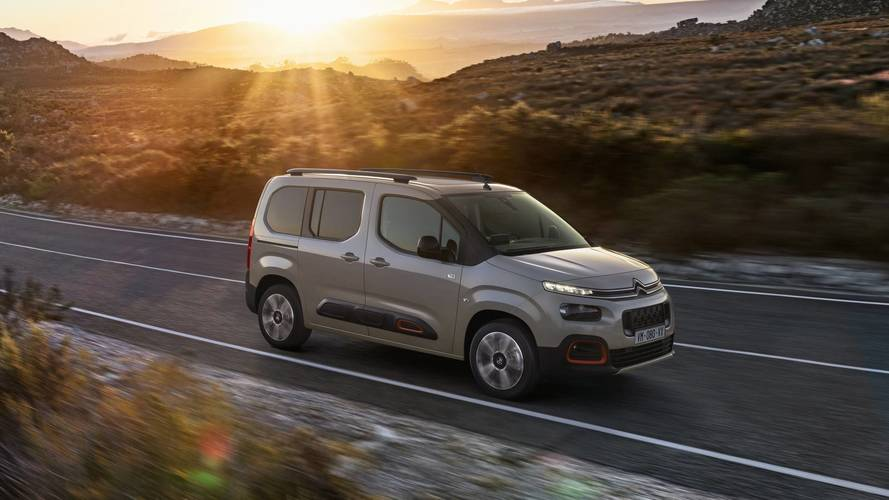 2018 Citroen Berlingo Brings Bold Styling To The Van Segment