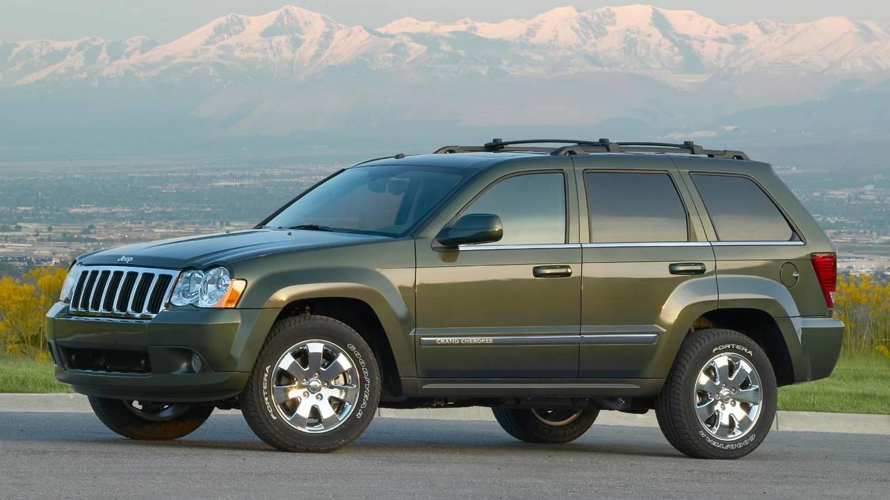 2008 Jeep Grand Cherokee Overland
