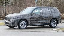 BMW X7 Spy Photo