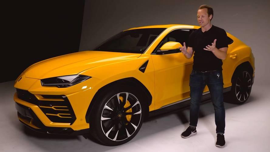 Top Gear, Lamborghini Urus'a yakından bakıyor