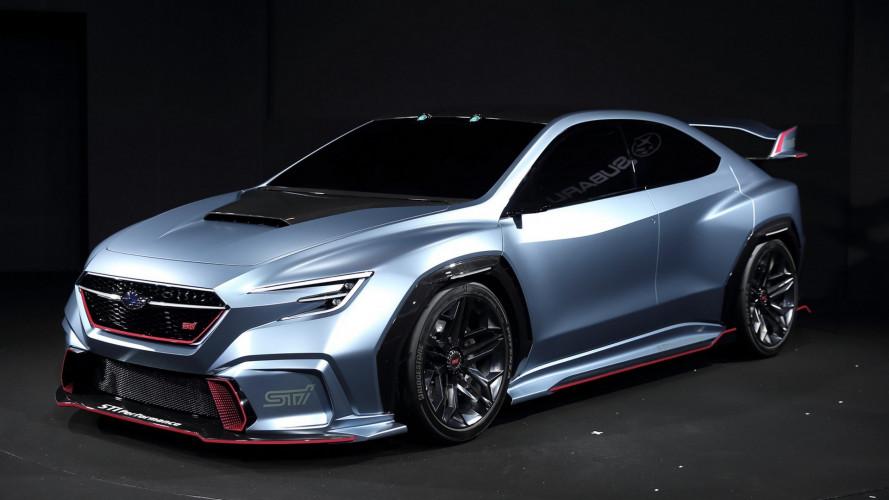 Subaru Viziv Performance STi, la berlina che sogna i rally