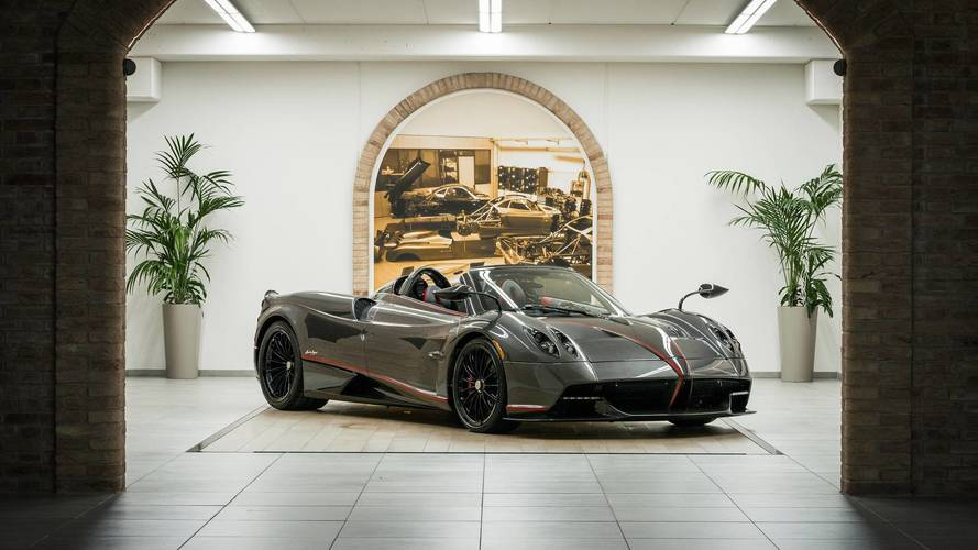 Pagani Reveals Origami-Like Soft Top For Huayra Roadster