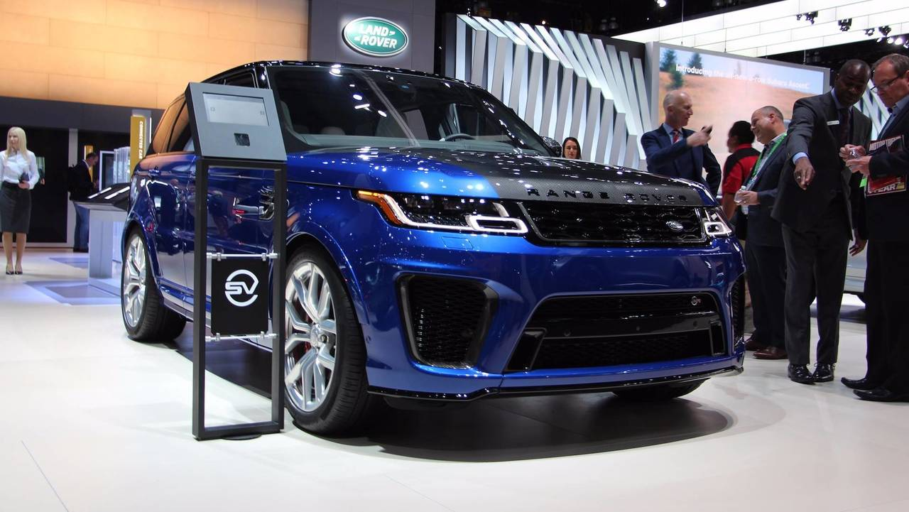 Range Rover Sport Svr Could Get Hardcore Stripped Out Version