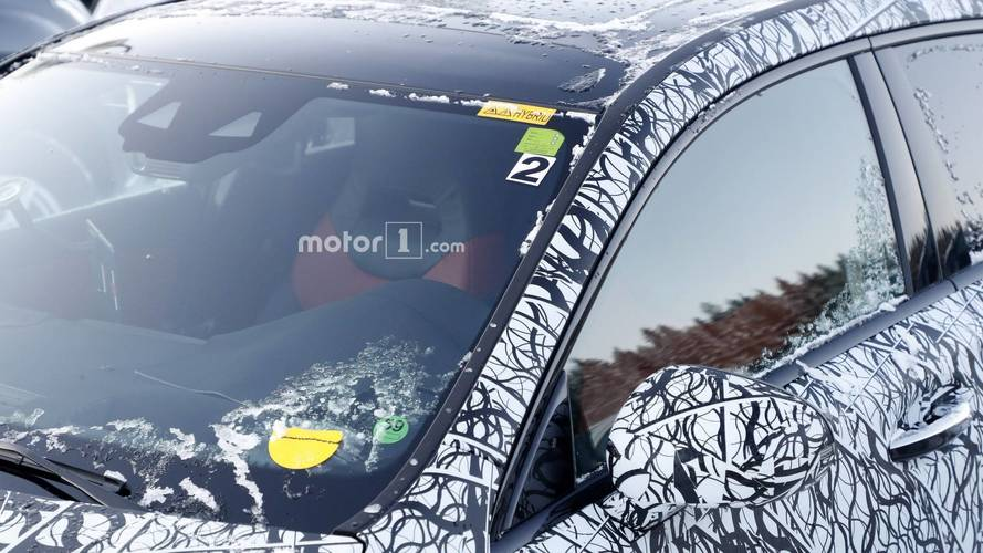 Mercedes A-Class plug-in hybrid spy photos