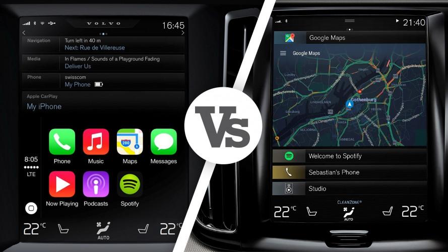 Apple CarPlay e Android Auto, quali differenze