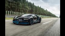 Bugatti Chiron da record: 0-400-0 km/h in 42 secondi