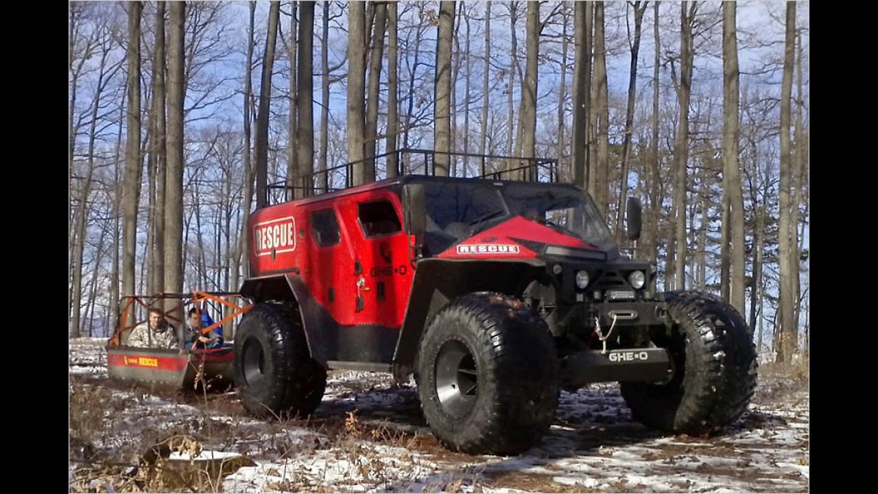 Ghe-O Rescue Car