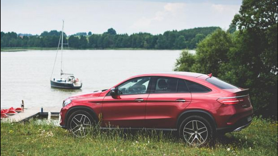 Mercedes GLE, il Polar Sun Trip si spinge fino a Riga a bordo della 350d