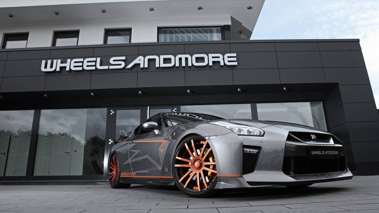 Tuning wheelsandmore offre 740 chevaux la nissan gt r for Garage nissan paris