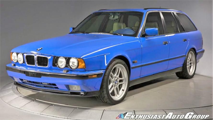 130'000 dollars pour une BMW M5 e34 d'occasion !