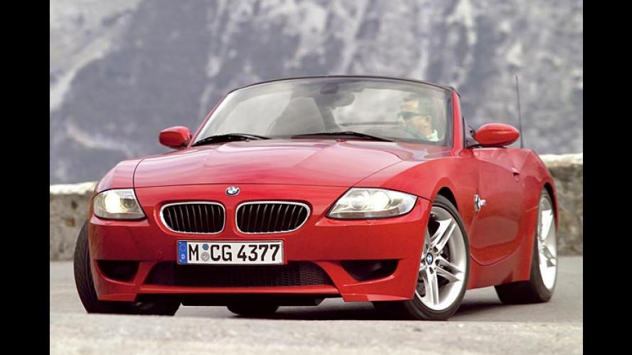 BMW Z4 Roadster: Stärkere Motoren und neue M-Version
