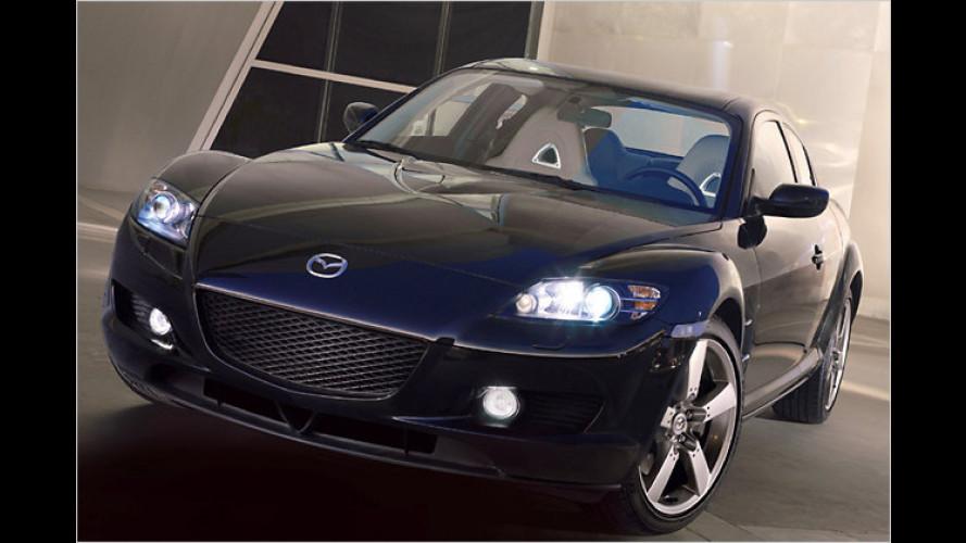 Nicht nur in Schwarz: Das Sondermodell Mazda RX-8 Kuro